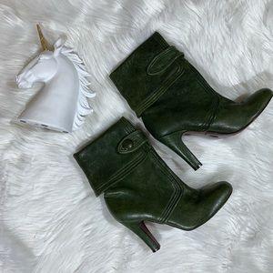 Frye Ava button boot